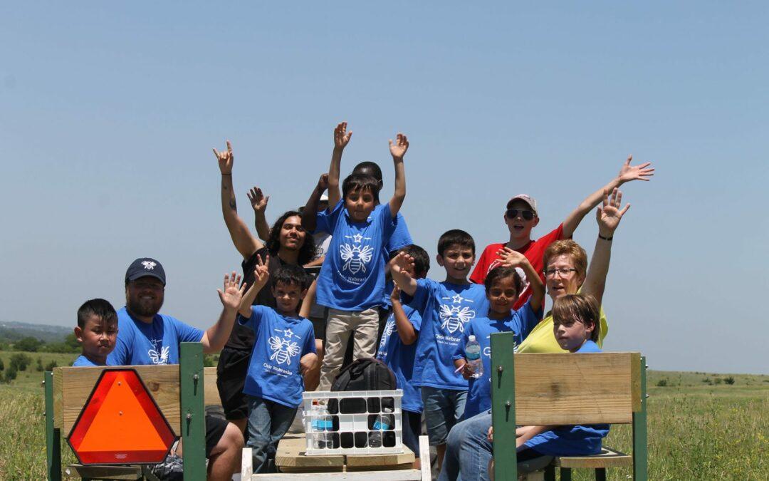 Campbell Elementary at Spring Creek Prairie Audubon Center