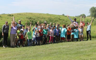 Another Great Week for CLC students at Spring Creek Prairie Audubon Center